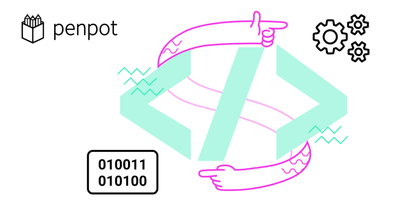 Penpot logo.